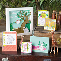 Animal Expedition Suite for Paper Craft and Card Making