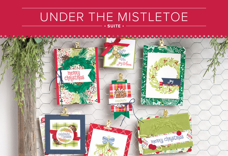 Under the Mistletoe Suite for Paper Craft and Card Making