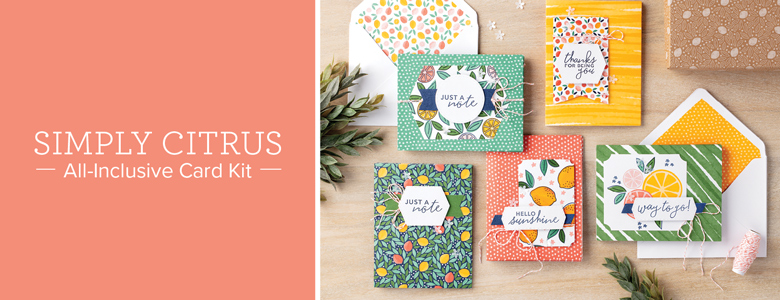 SIMPLY CITRUS ALL-INCLUSIVE CARD KIT