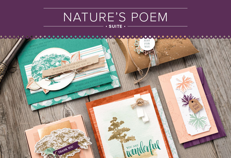 Nature's Poem Suite for Paper Craft and Card Making