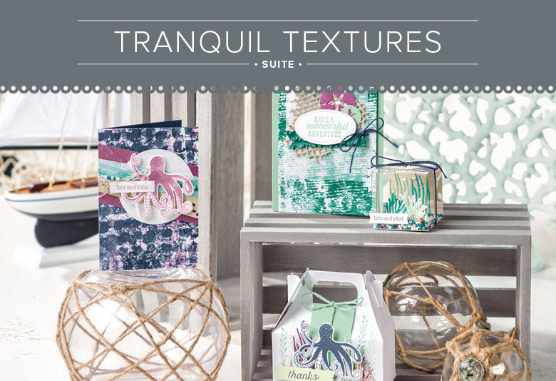 Tranquil Texture Suite for Paper Craft and Card Making