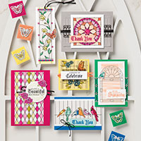 Graceful Glass Suite for Paper Craft and Card Making