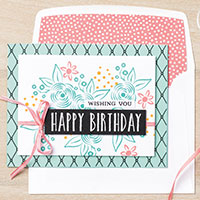Birthday Stamp Sets