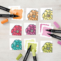 Stampin' Blends Blendable Alcohol Markers for Crafts