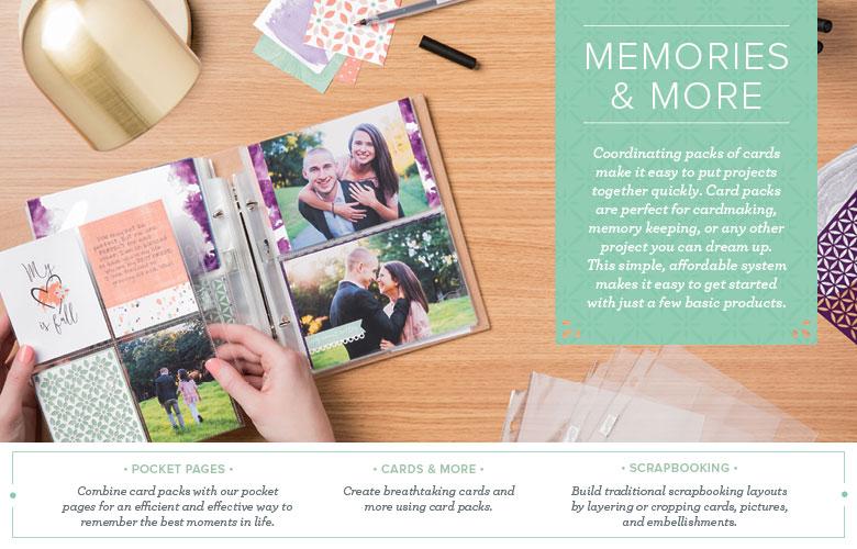 Memories & More Memory Keeping and Scrapbooking Supplies