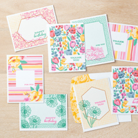 FOUR SEASON FLORAL CARDS