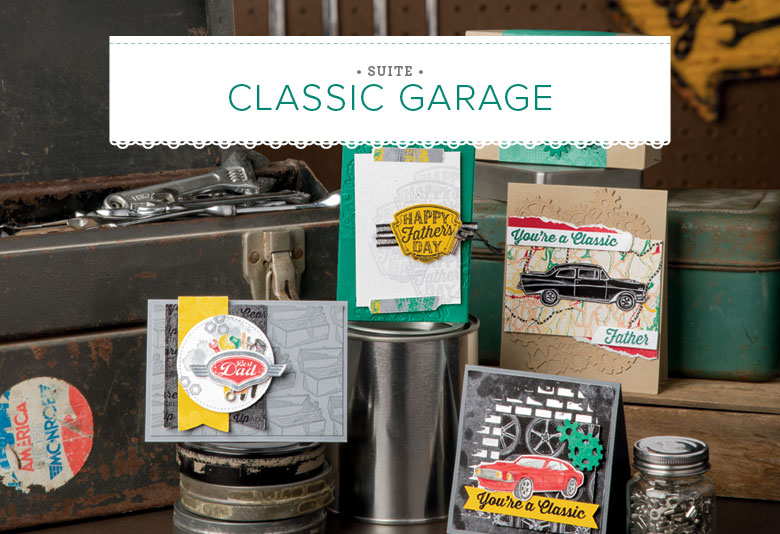 Classic Garage Images © Stampin' Up! ®