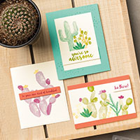 Flowering Desert Cards