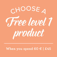Free with £45/60 € Spend
