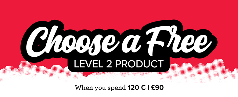 Free with £90/120 € Spend